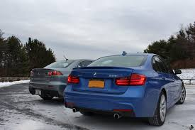 price for bmw 335i bmw 335i xdrive vs mitsubishi evo mr review by limitedslipblog