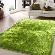 Green Area Rug Shag Solid Green Area Rug 5 X 7 Free Shipping Today