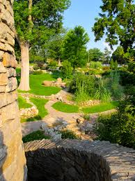 file view of rock garden from lighthouse harmon park kearney ne