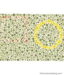 Color Blind Design Color Blindness Test Online Cure And Improve Color Blindness Red