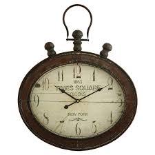 Wall Clock Uttermost Harrison Gray 30 In Wall Clock Hayneedle