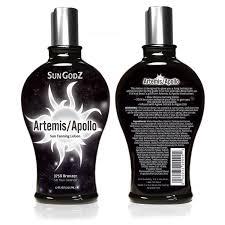 amazon com sungodz apollo artemis 375x bronzer tanning lotion