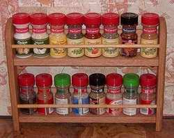 Red Spice Rack Custom Built Cabinet Organizers U0026 Spice Racks