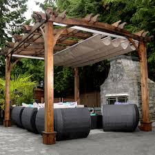 Backyard Canopy Ideas by The Courtyard Garden Treasures 10 X 12 Gazebo Design Home Ideas