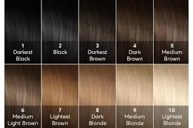 light brown hair dye for dark hair a hair color chart to get glamorous results at home