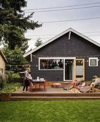Backyard Small Deck Ideas Estate Residence Modern Exterior Other Metro Karen