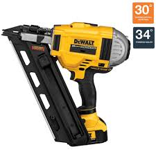 Paslode Coil Roofing Nailer by Dewalt 20 Volt Max Xr Lithium Ion Cordless Brushless 2 Speed 33