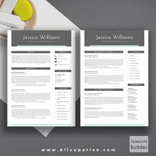 2 page resume template modern resume template cover letter 123 page template 2 page