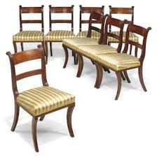 Regency Dining Chairs Mahogany Use Mahogany Dining Chairs For A Long Lasting Service U2013 Home Decor