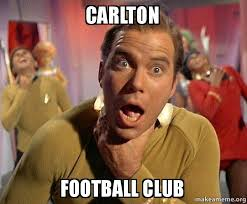 Carlton Meme - carlton football club captain kirk choking make a meme