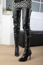womens boots images black patent leather vintage thigh high boots for heels