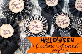 Free Printables For Halloween by Halloween Costume Awards With Free Printables A And A