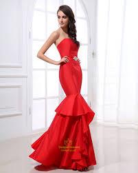red mermaid prom dresses uk plus size prom dresses