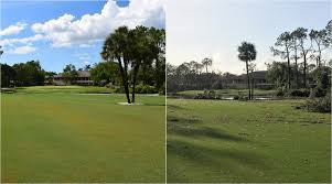 some south florida golf courses got lucky after hurricane irma