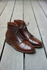 quality s boots alden ravello i a pair in a lower quality leather that are