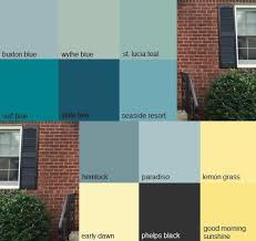 Picking A Front Door Color 157 Best Paint Images On Pinterest Home Front Door Colors And