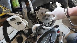 dirt bike sticky clutch fix suzuki rm 125 98 youtube