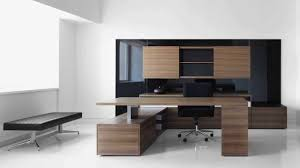 Modern Wooden Office Tables Outstanding High End Office Furniture With Wooden Desk Table And