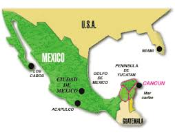 map of us vacation spots cancun top vacation spots