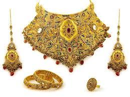 gold wedding bracelet images Gold wedding jewelry sets 5 weddings eve gold bridal necklace jpg