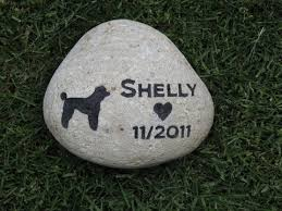 memory stones poodle pet memorial poodle memory grave 8 9 inch