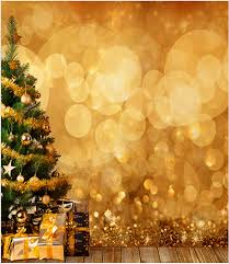 christmas backdrop golden bokeh christmas backdrop for photography digital printed