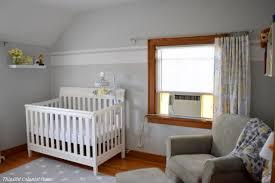 Gray And Yellow Nursery Decor Diy Nursery Decor This Colonial Home