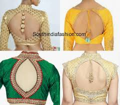 blouse pics cut out back neck blouse designs south india fashion