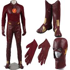 mens costume 2016 the flash costume with boots men s costume barry