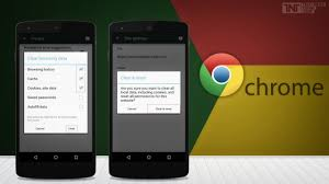 clear cookies android here s how you can clear cookies cache and history on chrome for