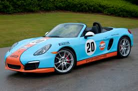 gulf racing wallpaper 981 new 2013 981 boxster in amazing classic gulf racing livery