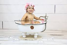 photography prop baby or boy bathtub baby toddlers