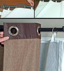 How To Attach Blackout Lining To Curtains Grommet Blackout Curtains Insulated Blackout Liner Orvis