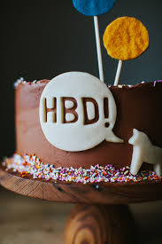 classic yellow cake with chocolate frosting u2014 molly yeh