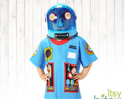 Kids Robot Halloween Costume Robot Costume Etsy