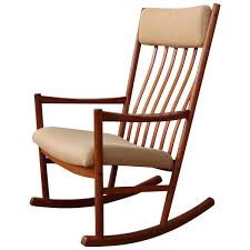 Rocking Chair Teak Wood Rocking Danish Teak Rocking Chair