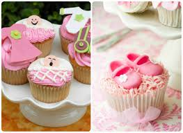 cupcakes for baby shower girl baby shower cupcake decorating ideas diabetesmang info