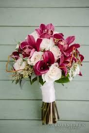 Sangria Colored Wedding Decorations Wedding Bouquets Bridesmaids Bouquet Wine Sangria Pink