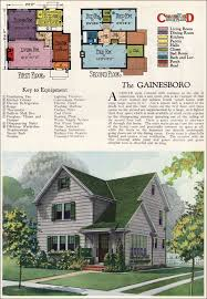 home plans magazine 1927 gainsboro two story modern colonial vintage 1920s house