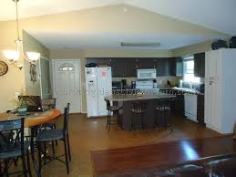Completely Open Floor Plans by Kitchen Living Room Open Floor Plan Paint Colors 4 Best Living