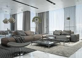 peinture canapé cuir design interieur idée peinture salon neutre canapé cuir moderne
