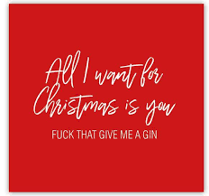 rude christmas cards all i want for christmas is you that give