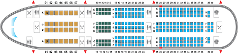 Boeing 777 Seat Map B787 1 Png