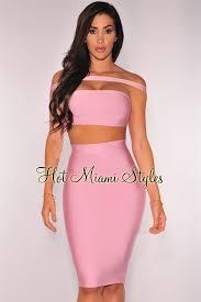 pink dress shoulder bandage two set