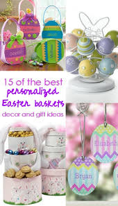 personalized easter baskets for toddlers of the best personalized easter baskets and gift ideas
