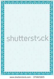 vector certificate border template additional design stock vector