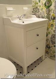 how to install bathroom cabinet bathroom renovation update how to install an ikea hemnes sink