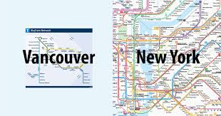 vancouver skytrain map here s how tiny vancouver s skytrain system is compared to other