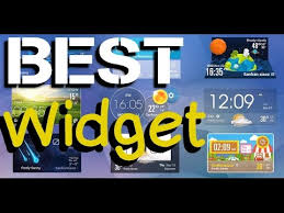 best clock widget for android best clock widgets on android that you can get