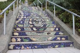 traversing san francisco u0027s 16th avenue tiled steps